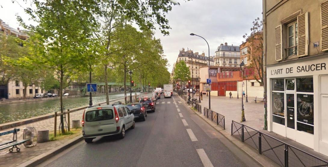 L'art de saucer devanture paris 1