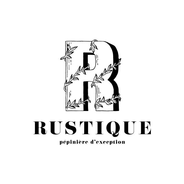 logo rustique noir insta